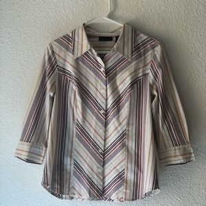 Apostrophe Stretch Blouse